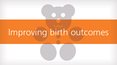 Teddy bear Improving birth outcomes